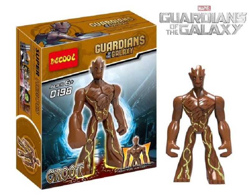 11cm Guardians Of The Galaxy Decool Big Block Figure Building Toys Compatible With Lego 1 - DECOOL