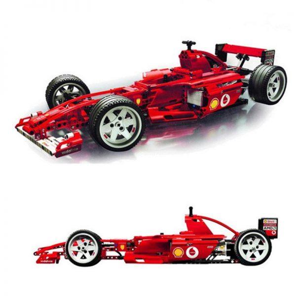 1242Pcs Formula Racing Car 1 8 Model 3335 Building Blocks Brick Sets Educational DIY Toys For - DECOOL