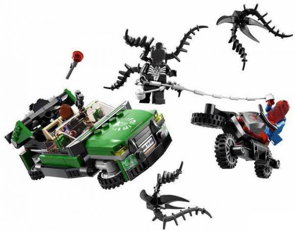 2018 New Decool 7104 Venom Ultimate Spiderman Building Brick Blocks Sets Figure Gift Toys Compatible Marvel - DECOOL