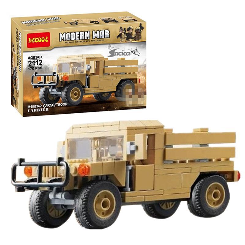 DECOOL 2112 Modern Warfare: M1097A2 Hummer Transporter