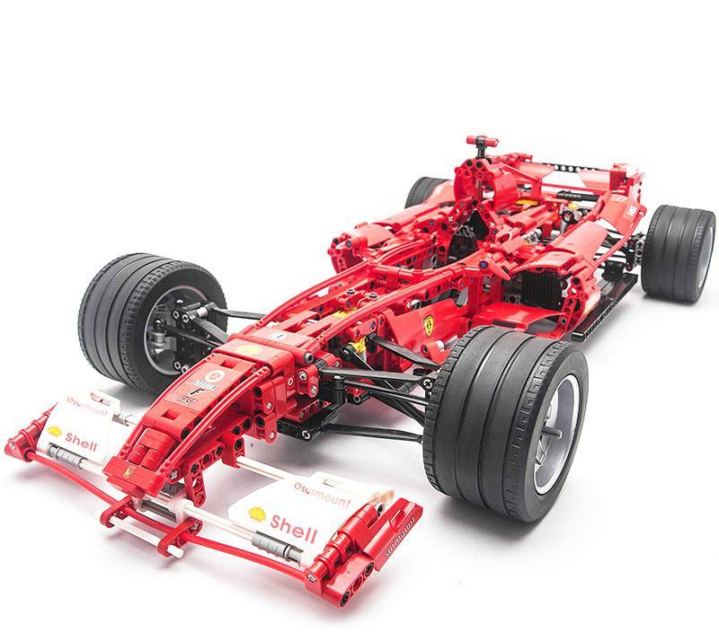 3335 Technic F1 Racer Building Blocks Brick Toy Set Boy Game Car Formula 1 Kids Toys - DECOOL