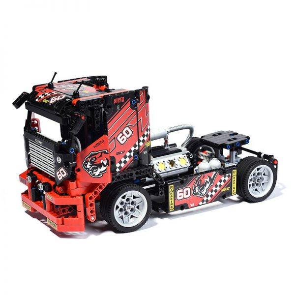 608pcs Race Truck Car 2 In 1 Transformable Model Building Block Sets Decool 3360 DIY Toys 2 - DECOOL