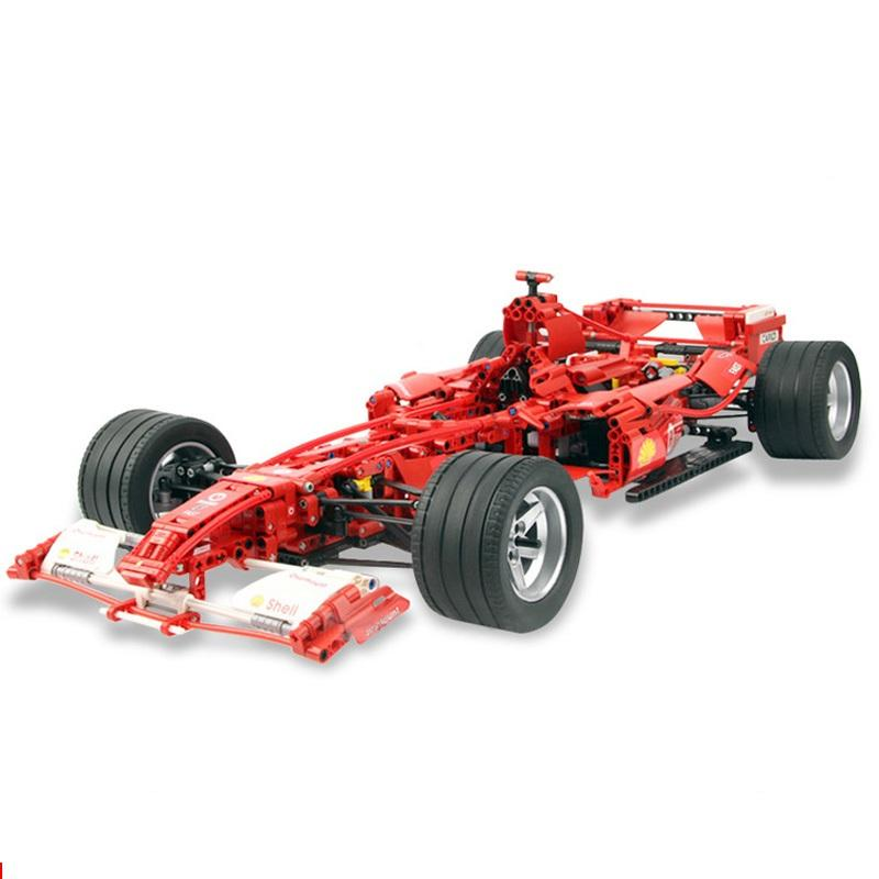 Car 1 8 Model 3335 Building Decool Technic Formula Racing Blocks Sets 1242pcs Educational Diy Bricks - DECOOL