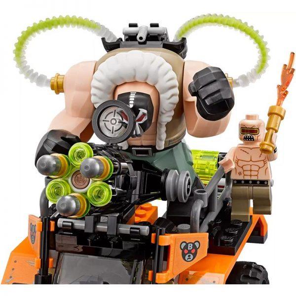DC Super Hero Bane Toxic Truck Attack bane big figure THE BATMAN MOVIE LegoSIM70914 Block set - DECOOL