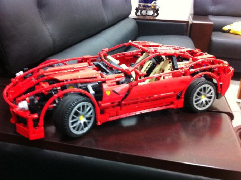 DECOOL 3333 1322pcs 1 10 F1 racing model blocks bricks building toys set technic 8145 children - DECOOL