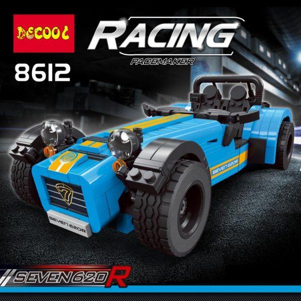 DECOOL 8612 CATERHAM SEVEN 620R Building Blocks model Compatible with legoingly 21307 LEPIN 21008 Racing Car - DECOOL