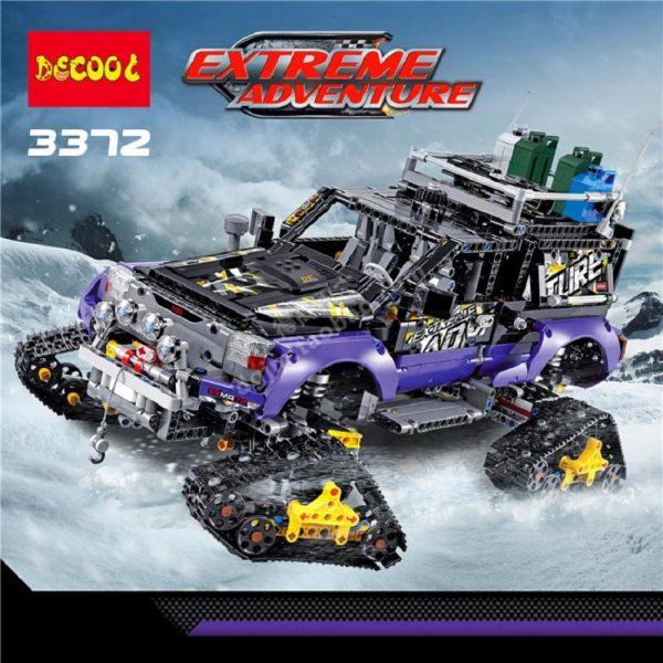 DECOOL Technic Mechanical Ultimate Extreme Adventure Car Building Blocks Sets Kits Bricks Kids Boy Gift Toys - DECOOL