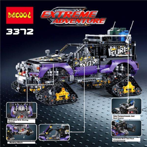 DECOOL Technic Mechanical Ultimate Extreme Adventure Car Building Blocks Sets Kits Bricks Kids Boy Gift Toys 1 - DECOOL