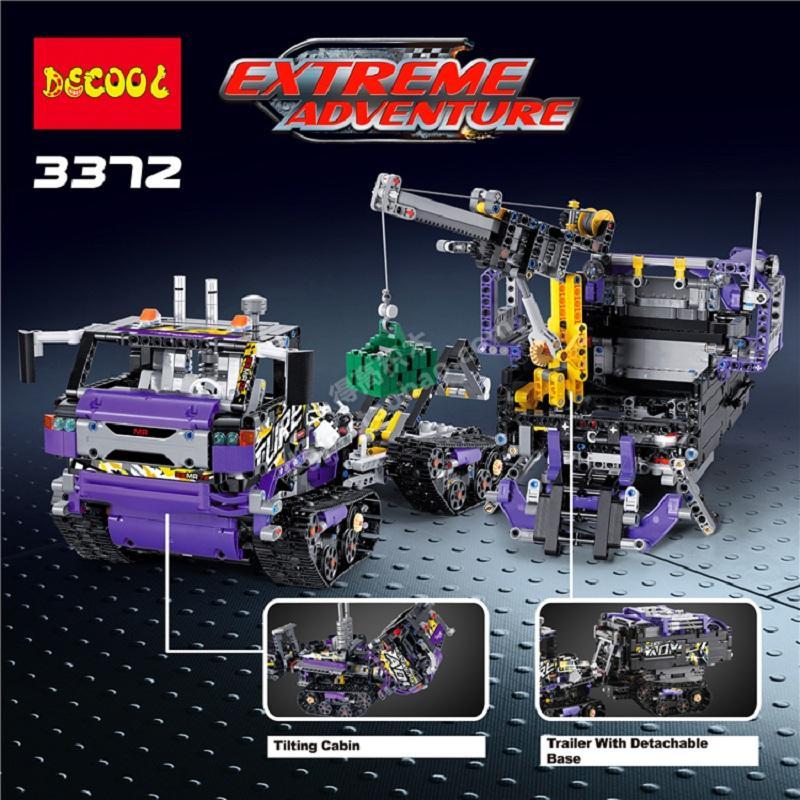 DECOOL Technic Mechanical Ultimate Extreme Adventure Car Building Blocks Sets Kits Bricks Kids Boy Gift Toys 2 - DECOOL
