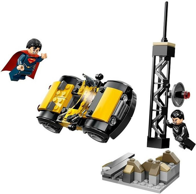 DECOOL comic super heroes Man of Steel superman v General Zod urban Droiyan building block bricks - DECOOL