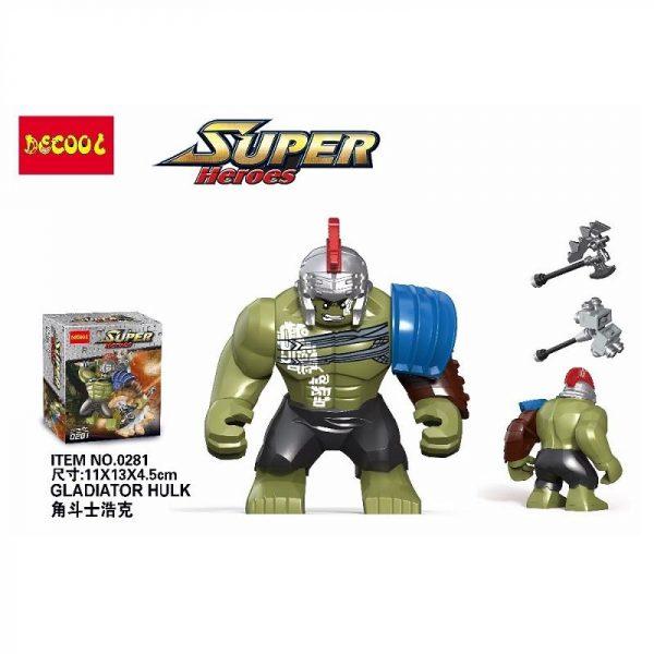 Decool 0281 Superheroes 8 5cm Big Man Size Hulk buster Building Blocks Bricks For Children Gift 1 1e4fec64 4b67 47ef 8d7a 985605b6f795 - DECOOL