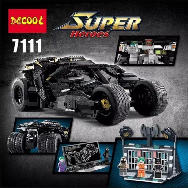 Decool 2018 7111 2113pcs Super Heroes The Tumbler Prison TOYs Gift for LEGO for Batman 76023 - DECOOL