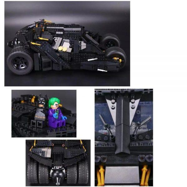 Decool 2018 7111 2113pcs Super Heroes The Tumbler Prison TOYs Gift for LEGO for Batman 76023 1 - DECOOL
