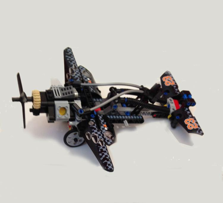 Decool 3361 Technolo City Architect 2 in 1 Hovercraft Model building block toys compatible legaoes 42002 - DECOOL