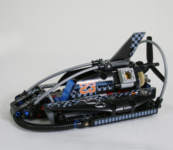 Decool 3361 Technolo City Architect 2 in 1 Hovercraft Model building block toys compatible legaoes 42002 1 - DECOOL
