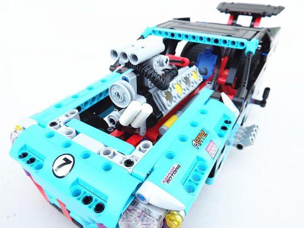Decool 3367 647pcs Racing Truck Car 2 In 1 Extreme Cruiser Off Roader Building Block Compatible - DECOOL