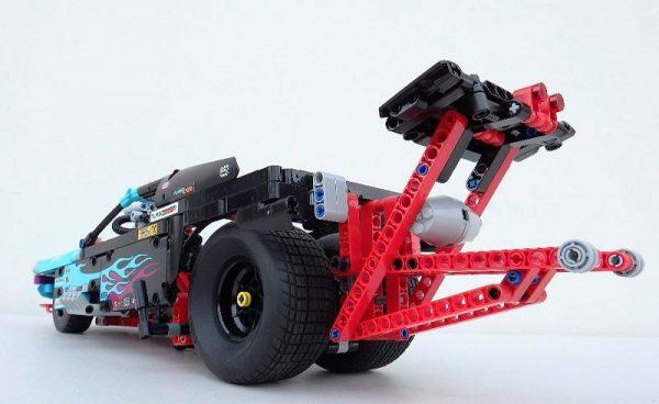 Decool 3367 647pcs Racing Truck Car 2 In 1 Extreme Cruiser Off Roader Building Block Compatible 2 - DECOOL