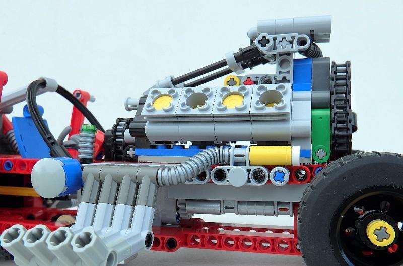 Decool 3367 647pcs Racing Truck Car 2 In 1 Extreme Cruiser Off Roader Building Block Compatible 3 - DECOOL