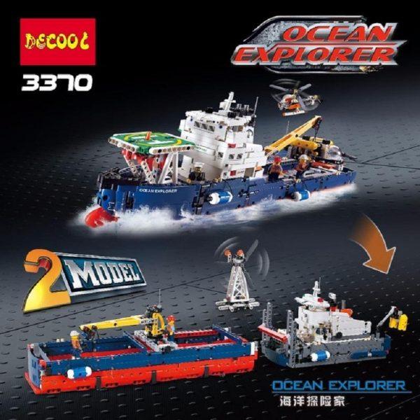Decool 3370 1342pcs Ocean exploration Legoings 3D DIY Figures toys for children educational building blocks Birthday.jpg 640x640 34708e0d c151 4fb3 9eaa 186275b0aacf - DECOOL