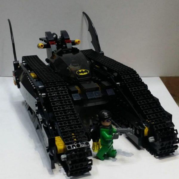 Decool 7108 Batman Chariot Super heroes The Bat Tank Figure Blocks Construction Building Toys For Children - DECOOL