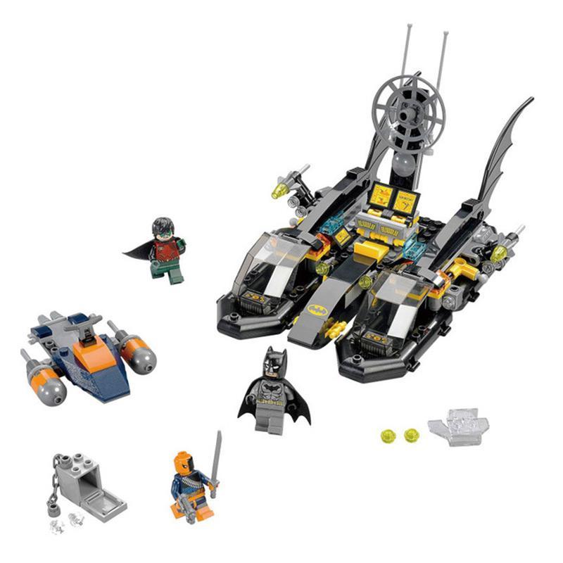 Decool 7113 Super Heroes Batman The Batboat Harbor Pursuit 76034 Super Heroes Building Blocks Toys - DECOOL