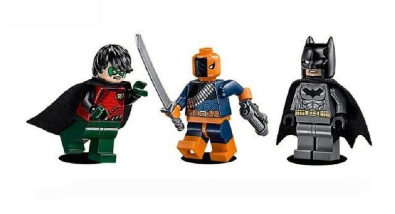 Decool 7113 Super Heroes Batman The Batboat Harbor Pursuit 76034 Super Heroes Building Blocks Toys 2 - DECOOL
