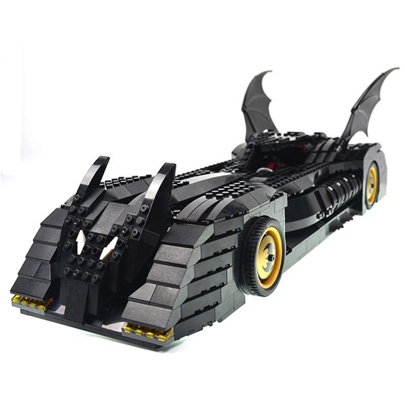 Decool 7116 1045pcs Super Heros Series Batman perak chariot Model Building Block set Bricks Toys For - DECOOL