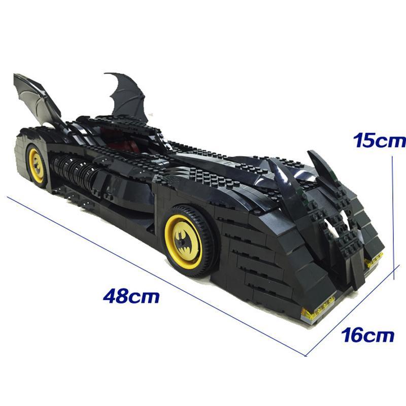 Decool 7116 1045pcs Super Heros Series Batman perak chariot Model Building Block set Bricks Toys For 2 - DECOOL