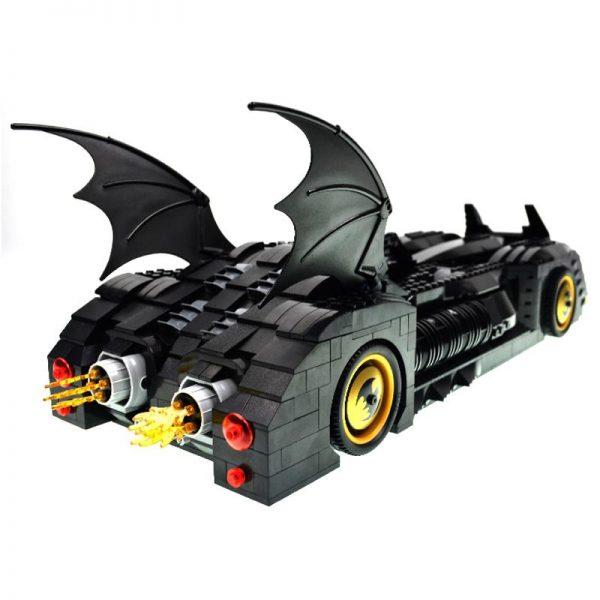 Decool 7116 1045pcs Super Heros Series Batman perak chariot Model Building Block set Bricks Toys For 3 - DECOOL