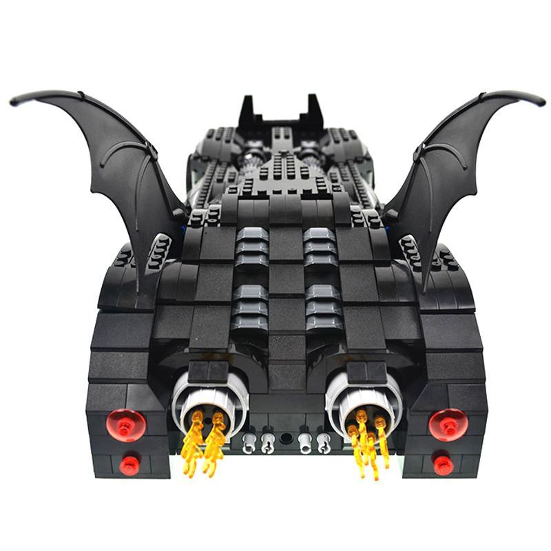 Decool 7116 1045pcs Super Heros Series Batman perak chariot Model Building Block set Bricks Toys For 4 - DECOOL