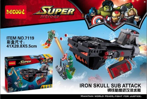 Decool 7119 The steel skeleton attacked the submarine 335 pcs Legoings 3D DIY Figures toys for.jpg 640x640 38f84624 4d8c 4b09 baac a39be46602a0 - DECOOL