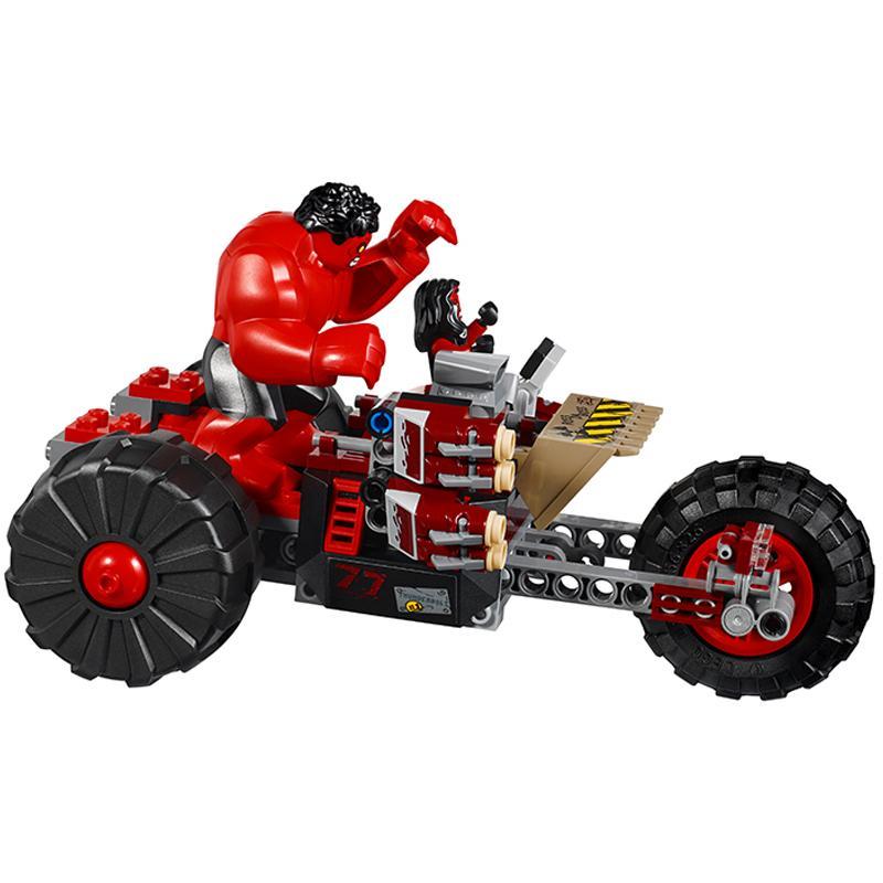 Decool 7125 375pcs Super Heros Series league of legends Model Building Block set Bricks Toys For 3 - DECOOL