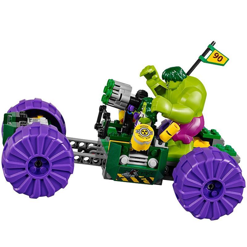 Decool 7125 375pcs Super Heros Series league of legends Model Building Block set Bricks Toys For 5 - DECOOL