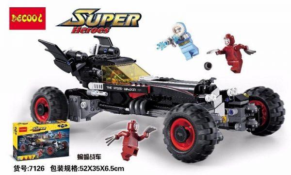 Decool 7126 587Pcs Genuine superheros Movie Set The Robbin Building Blocks Bricks Toys fit for lego 1 - DECOOL
