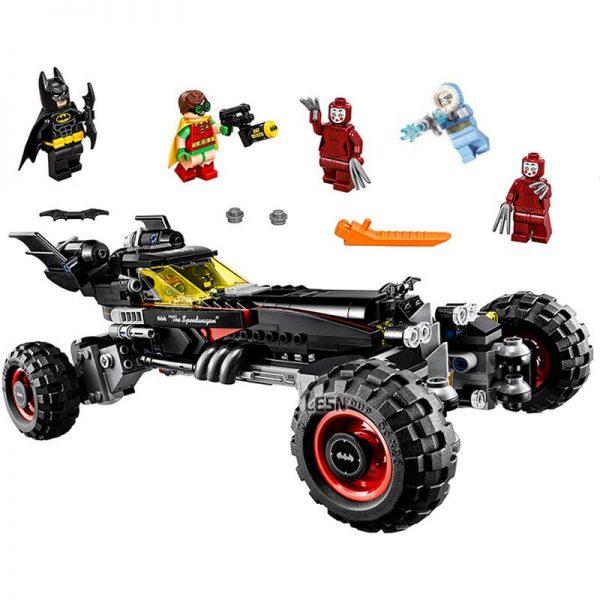 Decool 7126 587pcs Super Heros Series Batman Bat chariot Model Building Block set Bricks Toys For - DECOOL