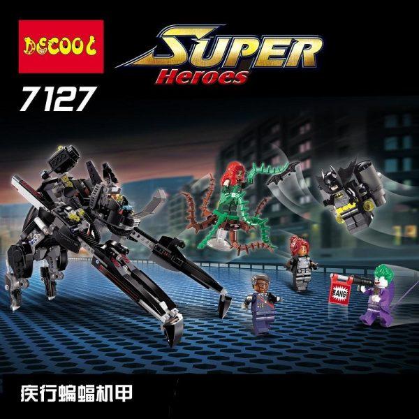 Decool 7127 Batman series disease of the bat machine Legoings 3D DIY Figures toys for children - DECOOL