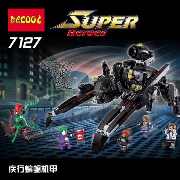 Decool 7127 Batman series disease of the bat machine Legoings 3D DIY Figures toys for children 1 - DECOOL