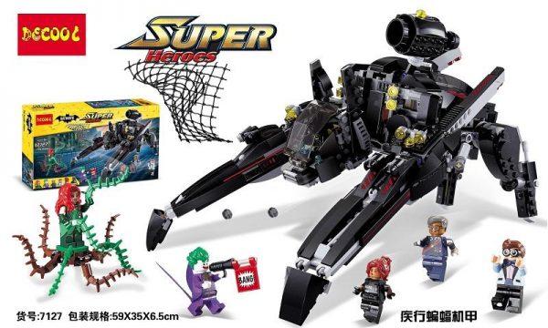 Decool 7127 Batman series disease of the bat machine Legoings 3D DIY Figures toys for children 2 - DECOOL