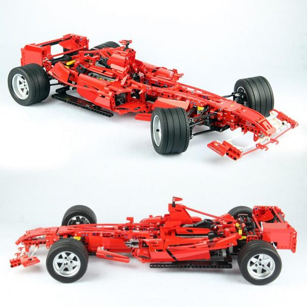 Decool Racing Car 1 8 Model 3335 1242pcs action figure toys DIY Bricks toys for Children 1 - DECOOL
