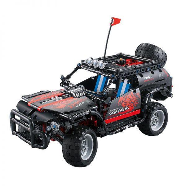Decool Scorpion SUV jeep building bricks blocks New year Gift Toys for children Car Off Roader 3 - DECOOL