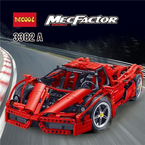 IN STOCK DECOOL 3382 1367Pcs technic formula speed Champions racer car sets model building blocks city - DECOOL