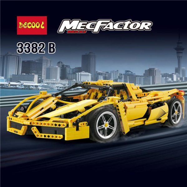 IN STOCK DECOOL 3382 1367Pcs technic formula speed Champions racer car sets model building blocks city 2 - DECOOL