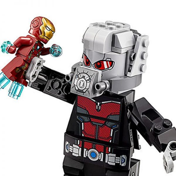 Marvel Super Hero Avengers Airport Battle Iron Man Giant Man Scarlet Witch Agent sim76051 kids gift 2 - DECOOL