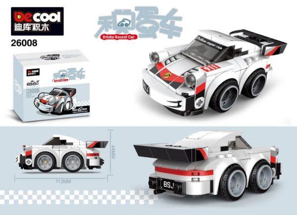 DECOOL 26008 1974 Porsche 911 Turbo 3.0 Chibi Alternate