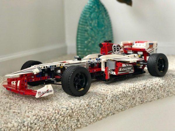 decool 3366 Grand Prix Racer 42000 model building blocks brick boys Toys children Compatible legoe technic - DECOOL