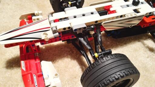 decool 3366 Grand Prix Racer 42000 model building blocks brick boys Toys children Compatible legoe technic 2 - DECOOL