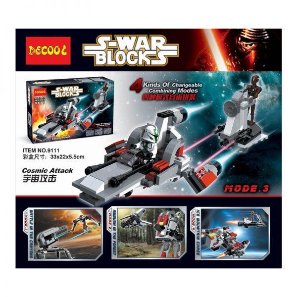 DECOOL 9111 Cosmic Attack Star Wars
