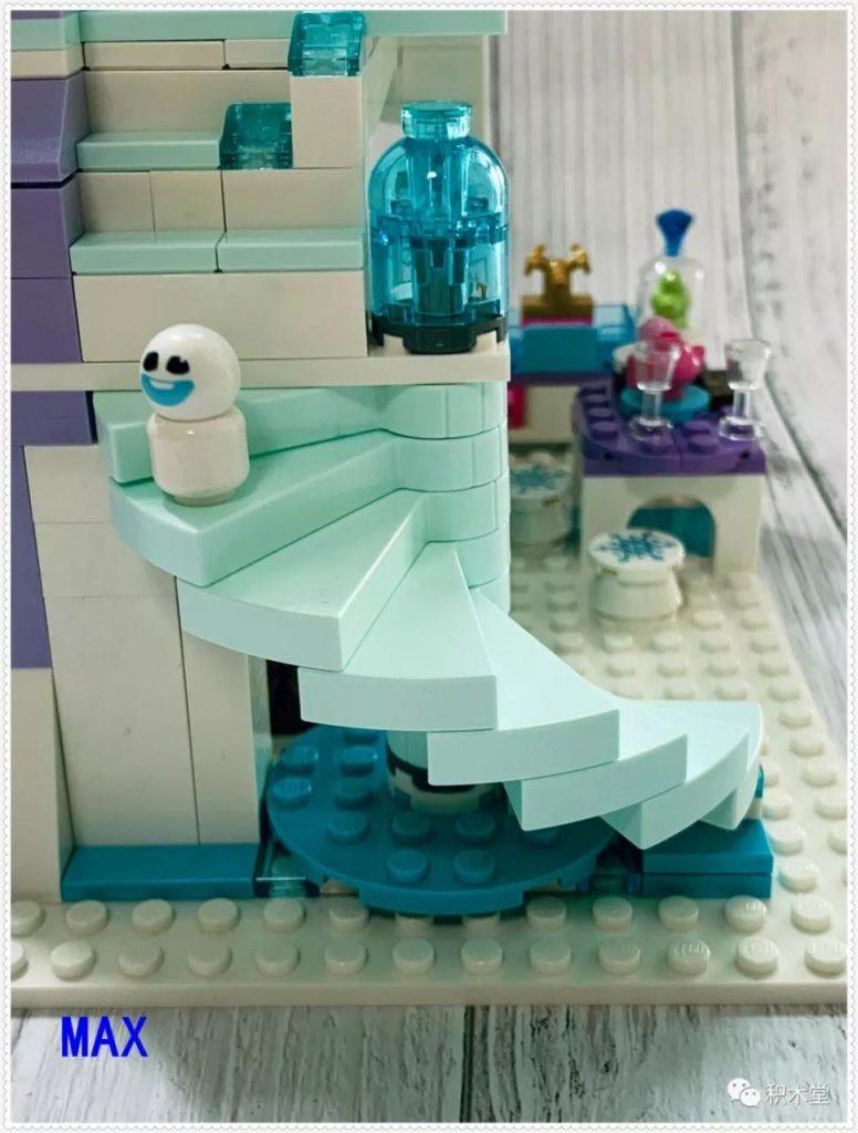 Review DECOOL 70217 Frozen: Aisha's Magical Ice Castle