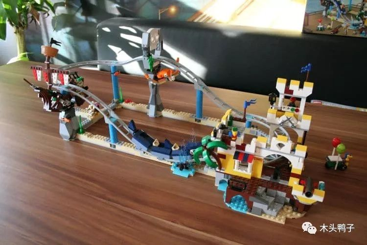 Review DECOOL 3129 Pirate Roller Coaster Creator