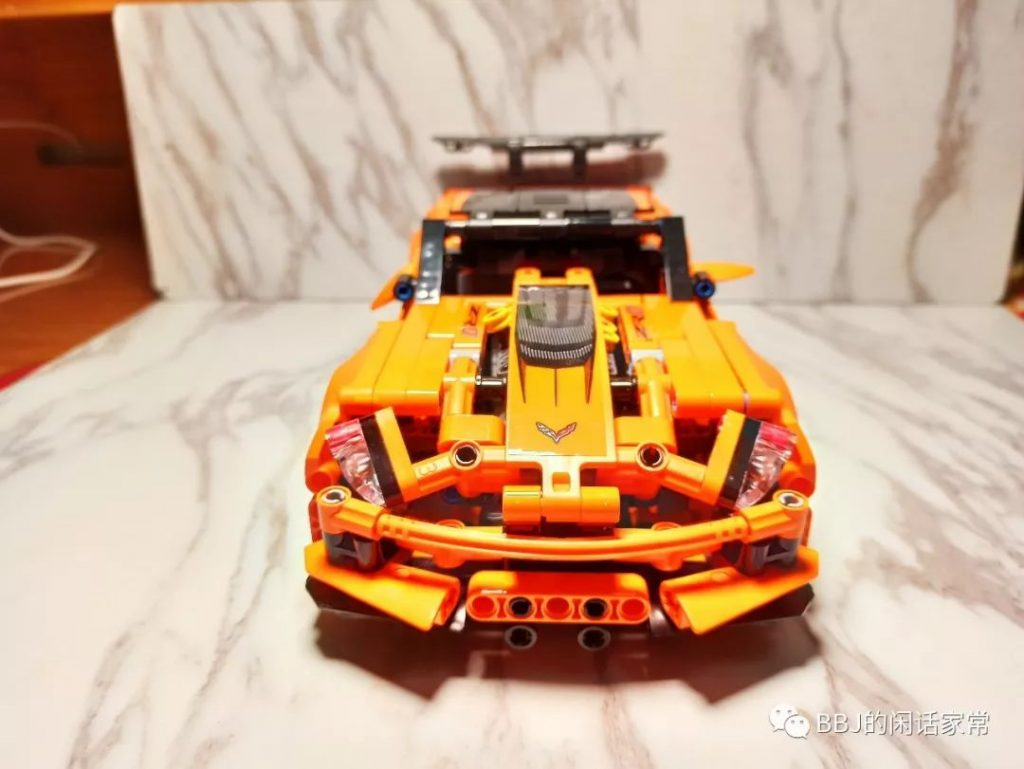 Review DECOOL 13384 Chevrolet Corvette ZR1 Sports Car Vehicle